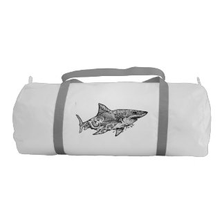 GREAT WHITE GYM BAG