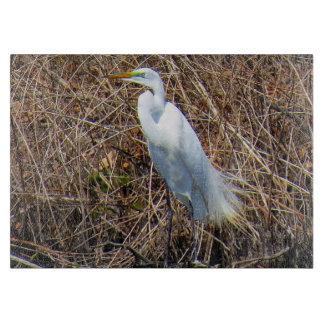 Great White Heron Cutting Board