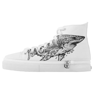 GREAT WHITE HIGH TOPS