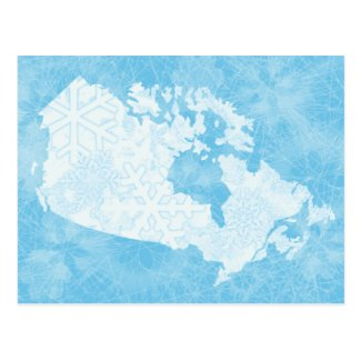 Great White North of Canada - Frozen!