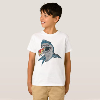 Great White Pizza Shark T-Shirt