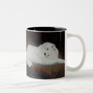 Great White Pyrenees Dog Mug