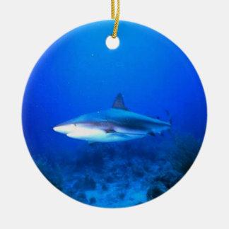 Great White Shark Christmas Ornament