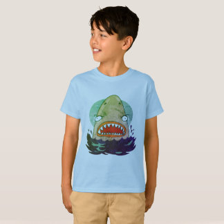 great white shark funny cartoon T-Shirt