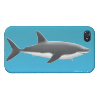 Great White Shark iPhone Case iPhone 4/4S Cases