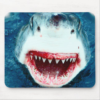 Great White Shark Mouse Pad
