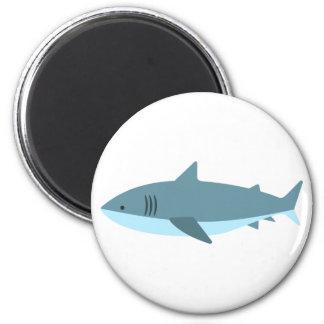 Great White Shark Primitive Style Magnet