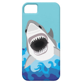 Great White Shark With Jaws Showing iPhone 5 Covers