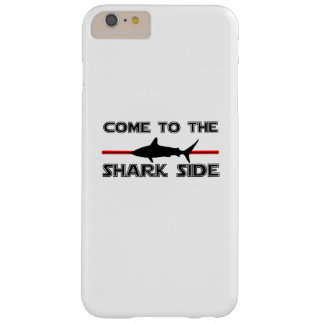 Great White Sharks  Come to the Sharks Funny Barely There iPhone 6 Plus Case
