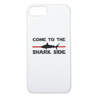 Great White Sharks  Come to the Sharks Funny iPhone 8/7 Case