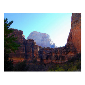 Great White Throne, Zion, Postcard