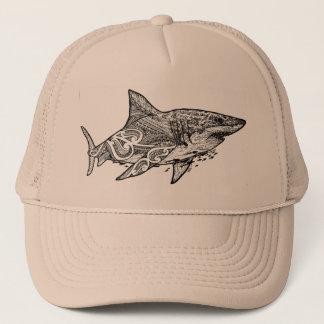 GREAT WHITE TRUCKER HAT