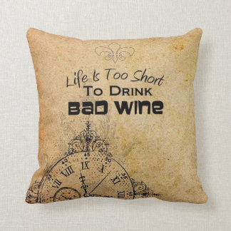 Great Wine Pillow! Throw Pillow