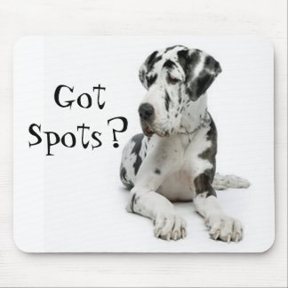GreatDane, Got Spots? Mouse Pad
