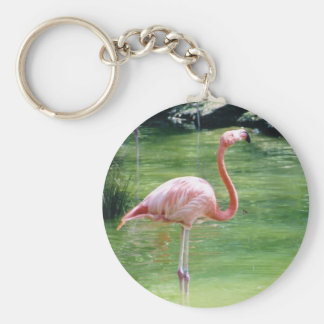Greater Flamingo Keychain