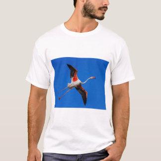 Greater flamingo, phoenicopterus roseus T-Shirt