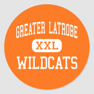 Greater Latrobe - Wildcats - High - Latrobe Classic Round Sticker