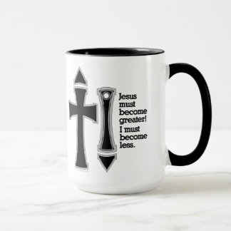 Greater-Less John 3-30-B Mug