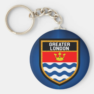 Greater London Flag Keychain
