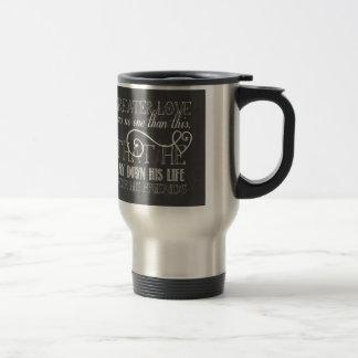 Greater Love Scripture Gift Mug