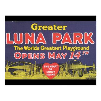 Greater Luna Park Coney Island_Vintage Travel Postcard