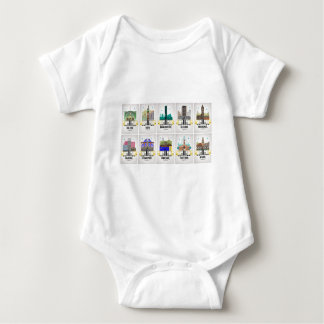 Greater Manchester Baby Bodysuit
