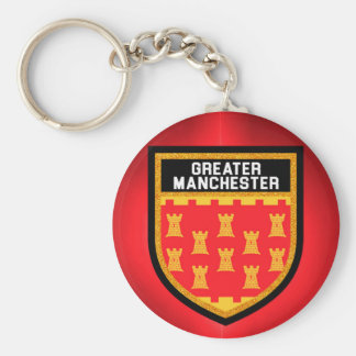 Greater Manchester Flag Keychain
