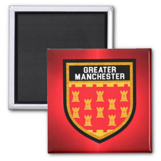 Greater Manchester Flag Magnet