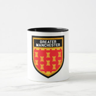Greater Manchester Flag Mug
