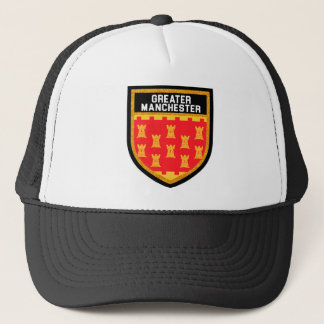 Greater Manchester Flag Trucker Hat