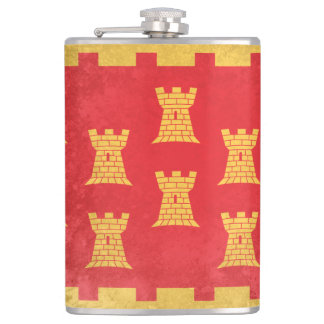 Greater Manchester Hip Flask