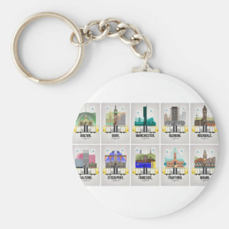 Greater Manchester Keychain