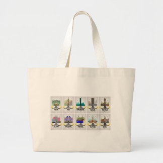Greater Manchester Large Tote Bag