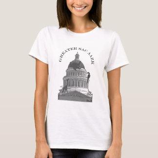 Greater Sac AAZK Logo - womens T-Shirt