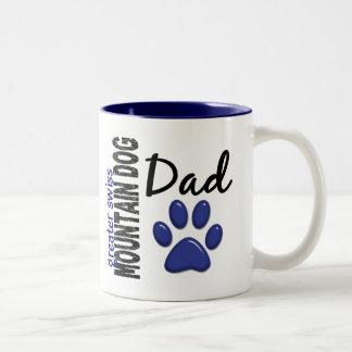 Greater Swiss Mountain Dog Dad 2 Two-Tone Coffee Mug
