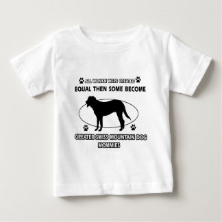 Greater swiss mountain dog designs baby T-Shirt