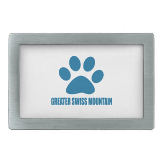 GREATER SWISS MOUNTAIN DOG DOG DESIGNS BELT BUCKLE