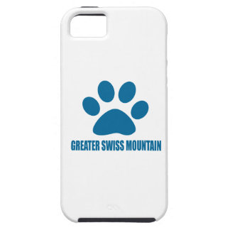 GREATER SWISS MOUNTAIN DOG DOG DESIGNS iPhone 5 CASE
