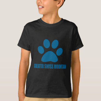 GREATER SWISS MOUNTAIN DOG DOG DESIGNS T-Shirt