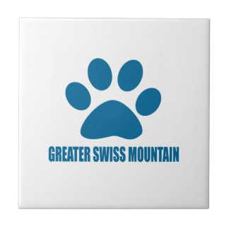 GREATER SWISS MOUNTAIN DOG DOG DESIGNS TILE