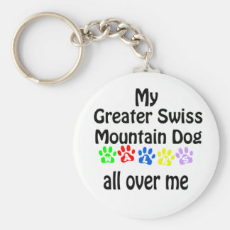 Greater Swiss Mountain Dog Keychain