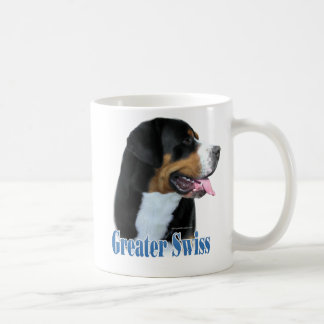 Greater Swiss Mountain Dog Name Coffee Mug