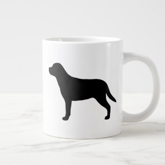 Greater Swiss Mountain Dog Silhouettes Large Coffee Mug