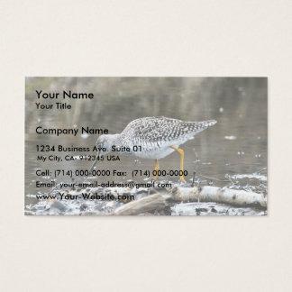 Greater Yellowlegs Business Card