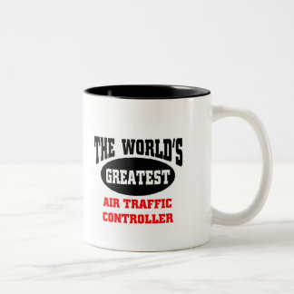 Greatest Air Traffic Controller Two-Tone Coffee Mug