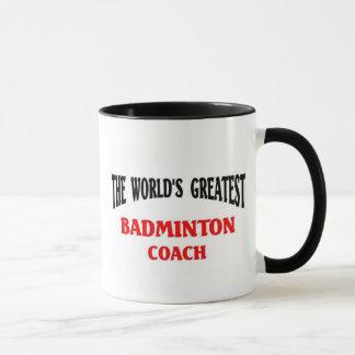Greatest Badminton Coach Mug