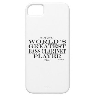Greatest Bass Clarinet Player Yet iPhone 5 Covers