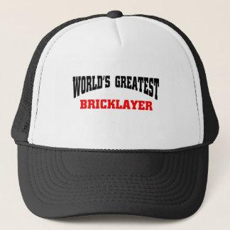 Greatest Bricklayer Trucker Hat