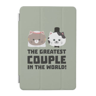 Greatest Cat Couple in the world Zd2n1 iPad Mini Cover