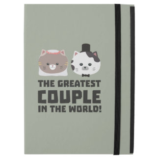 """Greatest Cat Couple in the world Zd2n1 iPad Pro 12.9"""" Case"""